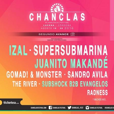 Cartel del Chanclas Festival
