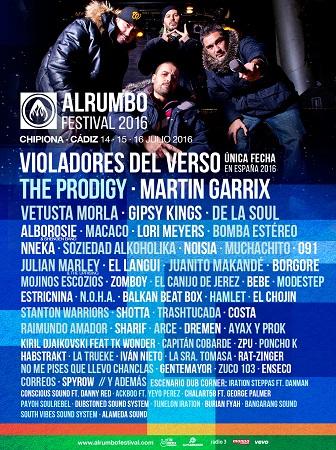 Imagen del festival Alrumbo