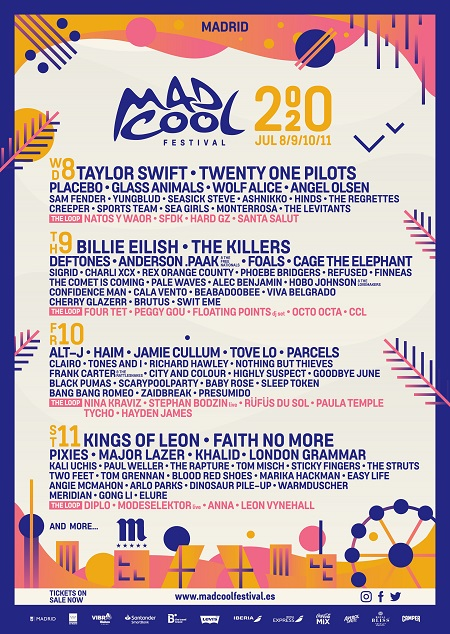 Cartel del Mad Cool festival