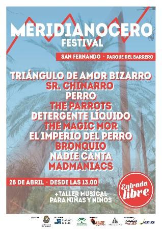 Cartel del Meridianocero festivalo