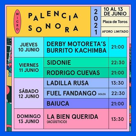 Cartel de Palencia Sonora