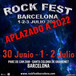 Cartel del Rock Fest Barcelona