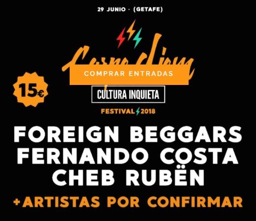 Cartel del festival Carpe Diem