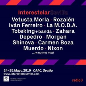 Cartel del Interestelar Sevilla