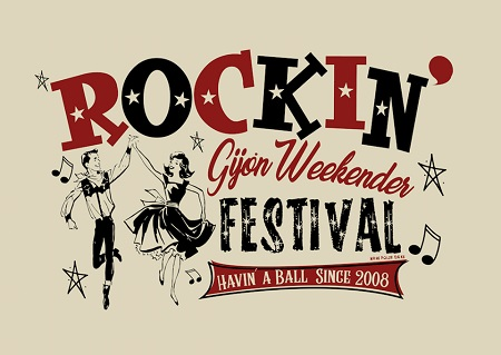 Cartel del Rockin Gijón