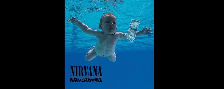 Imagen del disco Nevermind de Nirvana