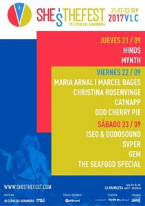 Cartel del Shes The Fest