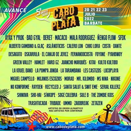 Cartel del Festival Cabo de Plata