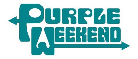 Cartel del Purple Weekend