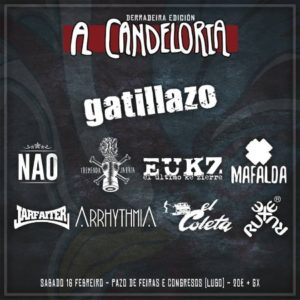 Cartel del festival A Candeloira