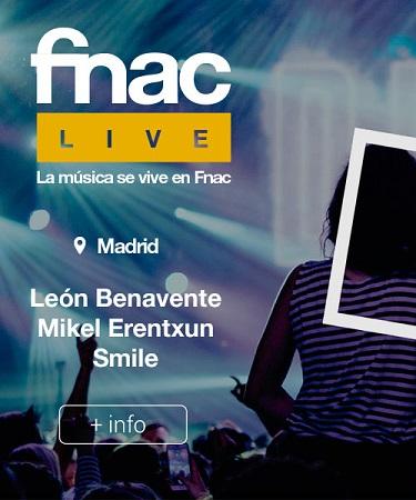 Portada web Fnac Día de la Música Madrid