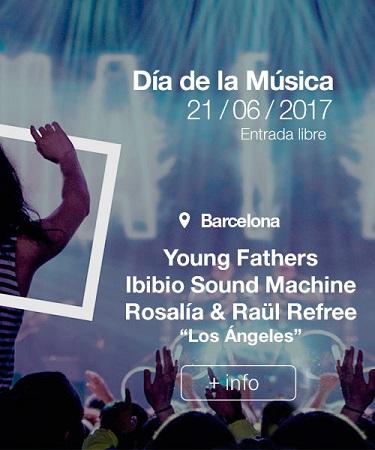 Portada web Fnac Día de la Música Barcelona