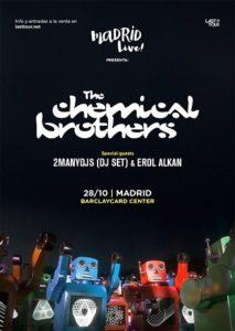 Cartel del Madrid Live