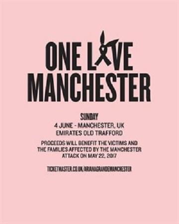 Concierto benéfico One Love Manchester