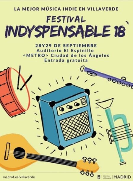 Cartel del Festival Indyspensable