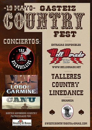 Cartel del Gasteiz Country Fest