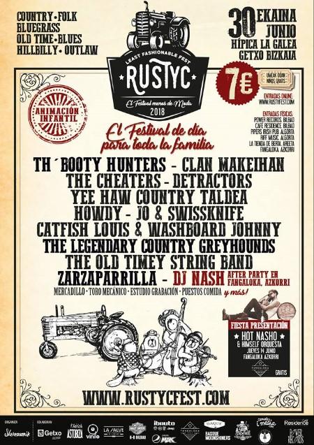 Cartel del Rustyc Fest